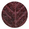 Andersen 22480743177070 Entrance Mat, Rubber, PET, Maroon, 17.7x3 ft