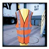 Occunomix LUX SSFULLG XXL YLW Safety Vest, HiViz, Yellow Poly, 2XL