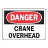 Accuform MEQD24BVA Danger Sign, 7 x 10In, R and BK/WHT, AL, ENG