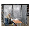 Approved Vendor 22-310148 Acoustic Screen, Modular, Gray, 4-1/2 x8ft.