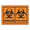 Brady 31264LS Biohazard Label, Bilingual, PK25