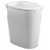 Rubbermaid 2958-00 WHT 14QT WHT Wastebasket