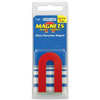 Master Magnetics 07225 RED SM Horseshoe Magnet