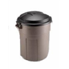 Rubbermaid Inc 2892-00-BLA 20GAL BLACK Trash Can, Pack of 6