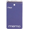 Mead 45354 60CT 3x5 Memo Book