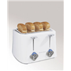 Hamilton Beach Brands Inc 24203 4 Slice WHT Toaster