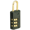 "Master Lock 646D 13/16"" Luggage Lock"
