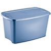 Sterilite 18354306 30GAL BLU Storage Tote, Pack of 6
