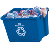 Rubbermaid Comm Prod 5714-73-BLUE 14GAL Recycle Box