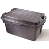Rubbermaid Inc 2461-00-DIM 28GAL HingeLid StorTote, Pack of 6