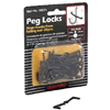 Lehigh Group/Crawford Prod 18025 25PK Peg Locks