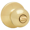 Kwikset 300P 3 CP PB Privacy Lockset