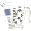 Bradshaw International 19864 2Cup Plas Measuring Cup