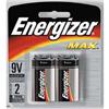 Eveready Battery Co 522BP-2 EVER 2PK 9V Alk Battery