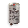 Leviton FS-40/400 I24 Lamp Starter, 40 W, 2 pin