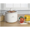Sunbeam Products Inc SCR151-WG-NP 1.5QT WHT Slow Cooker