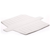 Rubbermaid 1297-AR WHT White Sink Divider Mat