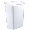 Rubbermaid 2803-00WHT 45QT WHT Wastebasket, Pack of 6