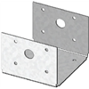 Usp Structural Connectors D44-TZ 4x4 Zinc Deck Bracket