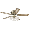 "Westinghouse Fan & Lighting 78510 42"" Contemp AB Ceil Fan"