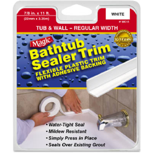 Magic American Corp MC40 Bathtub Sealer Trim on intermatic parts