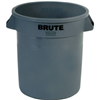 Rubbermaid Comm Prod 2610-00-GRAY 10GAL GRY Trash Can