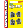 Bell Automotive Products Inc 22-5-08837-M 4PK CHR Hex Valved Cap