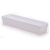 Rubbermaid 2912-RD-WHT 12x3x2White Drawer Organizer