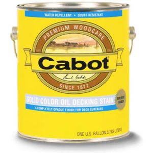 Cabot 01-1606 Gallon Neutral Oil Deck Stain, Pack of 4 Be the first to