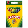 Crayola Llc 52-3008 8CT Crayons In Tuck Box