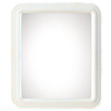 Home Decor Innovations 20-0400-AT4002WT-1012 12x14 Rect Frame Mirror, Pack of 6