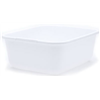 Rubbermaid 2951-AR WHT 11.5QT WHT Dish Pan