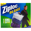 S C Johnson Wax 65645 Ziploc3PK XXL HD BigBag
