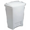 Rubbermaid 2841-87 WHT 33QT White Wastebasket, Pack of 6