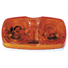 Peterson Mfg CO V138A Amber Double Clearance Light