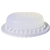 Interdesign 30101 LG WHT Soap Saver Dish
