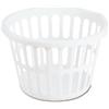 Sterilite 12488006 1-1/2BU RND Laun Basket