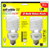 G E Lighting 74203 GE 2PK 26W SW Spir Bulb, Pack of 6
