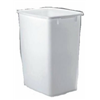 Rubbermaid 2806-TP-WHT 36QT WHT Wastebasket