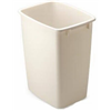 Rubbermaid 2806-TP BISQ 36QT Bisque Wastebasket