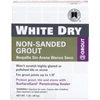 Custom Bldg Products WDG1-6 LB WHT Dry Tile Grout