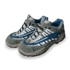 Approved Vendor 3LY25 Athletic Work Shoes, Stl, Mn, 5, Gry, 1PR