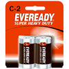 Eveready Battery Co 1235SW-2 EVER 2PK C HD Battery