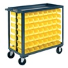 Durham RSC-1836-BLP-112-220-95 Bin Cart, 18x36x35 In., 1200 lb. Cap.