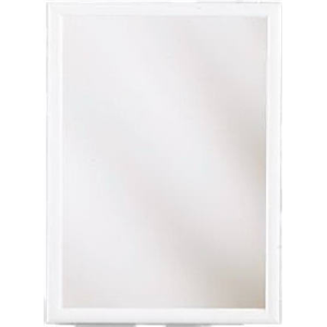 Zenith 20 in. Wood Swing Door Medicine Cabinet in White WW2026 at