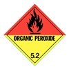 Approved Vendor HMSL-00046-P100 DOT Label, 4 In. H, Black/Red, Yellow, PK100