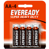Eveready Battery Co 1215SW-4 EVER 4PK AA HD Battery