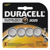 Duracell DL2025B4 Battery, 2025, Lithium, 3V, PK4