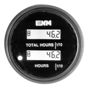 ENM Hour Meter, LCD, 80-265 VAC at Sears.com