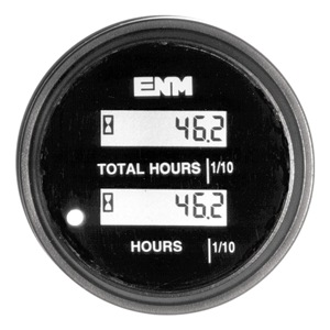 ENM Hour Meter, LCD, 10-40 VDC at Sears.com
